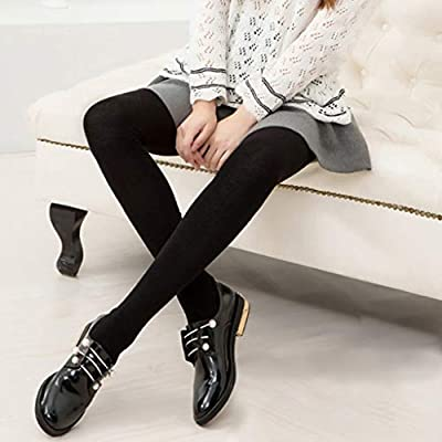 HOMERIT Plus Size Thigh High Socks Extra Long White Black Sock For Women Cotton Over The Knee High Boot Stockings Knit Leg Warmers Daily Wear, Black White, 15 X 10 X 5 CM at Women's Clothing store