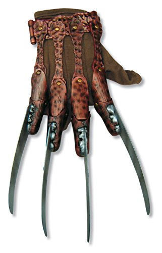 Accessories Krueger Freddy (Rubie's mens Freddy Krueger fleece Costume Accessory Glove, Multi, One)