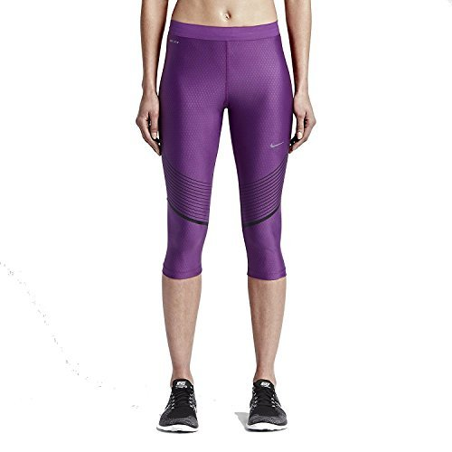 Nike Womens Power Speed Compression Running Capri Tights ...
