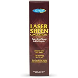 FARNAM 45912 Laser Sheen Detangler, 12-Ounce