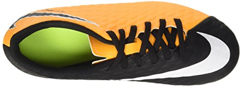 Nike de Enfant Orange Laser vert Orange III Volt Black FG Hypervenom Football Phade Chaussures Mixte pqpwaxZS