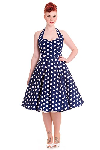 Hell-Bunny-60s-Navy-and-White-Polka-Dot-Halter-Flare-Party-Dress