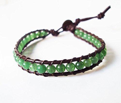 Jade bracelets,stone bracelets,leather bracelets,men bracelets,women bracelets,wrap bracelets,fashion bracelets