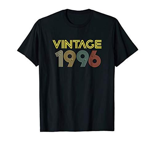 Vintage 1996 T Shirt Best Year 1996 Original Genuine - 1996 Serigraph