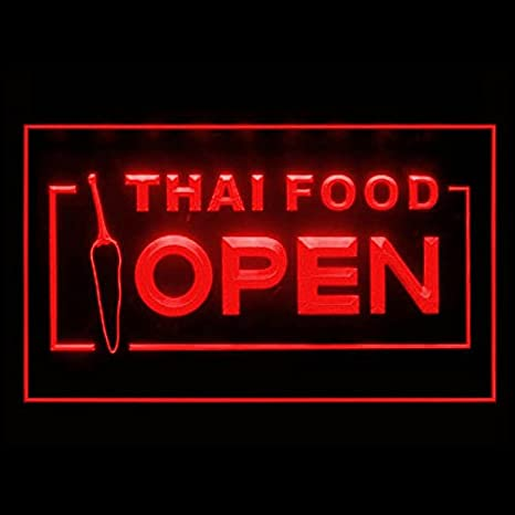 Amazoncom 110228 Thai Food Thailand Restaurant Display Led Light