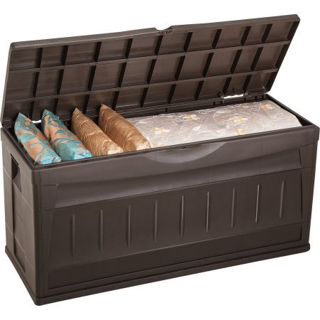 Rimax Casual Brown Storage Deck Box by Rimax