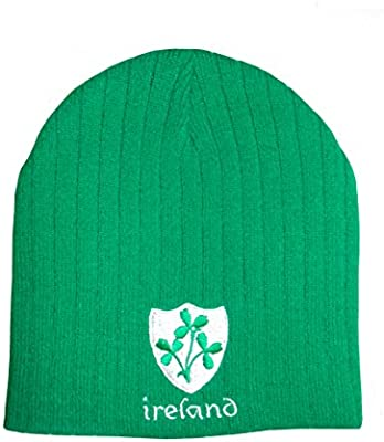 ARENA Gilbert - Balón de Rugby de Irlanda Verde Sombrero de Beanie ...