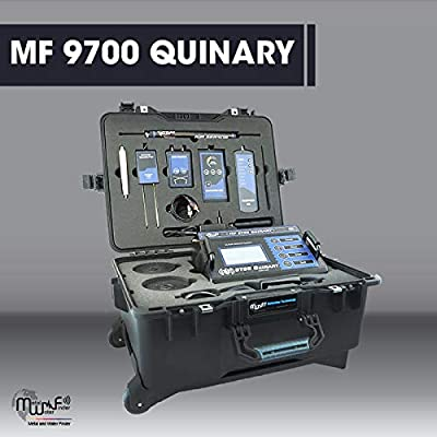 Amazon com : MWF MF 9700 QUINARY Long Range Metal Detector