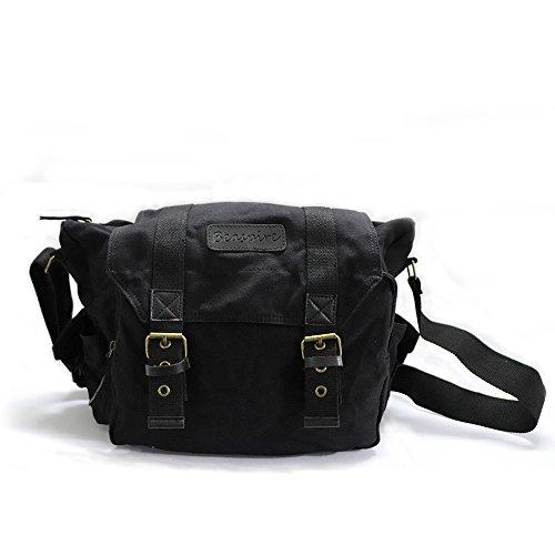 Camera Bag,DSLR Messenger Camera Bag with Removable Insert f