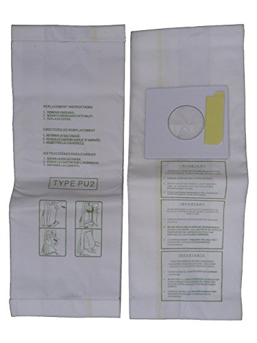 EnviroCare Replacement Micro Filtration Vacuum Bags for Sharp PU-2 Uprights 18 Pack