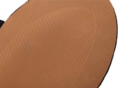 Dimensioni Brown Colore Sandali Estate Sandali con Appartamenti 37 Romani w7c0aqZ