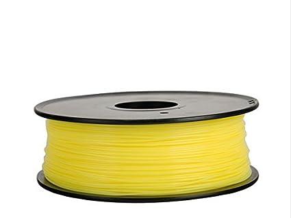 Filamento 3d Flexible (elastómero termoplástico) amarillo 3.00 mm ...