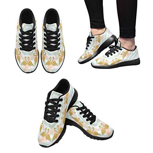 Flamingos InterestPrint Women's Shoes Design 1 Athletic Running OSIqP