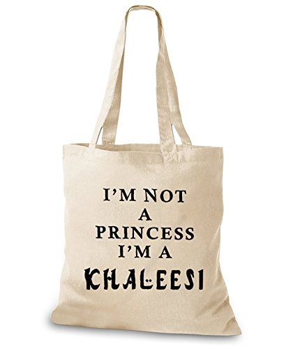 Eesi I Am A Jute poche M Not Tru Princess Naturel Sac De Stylobags 6PwU6g