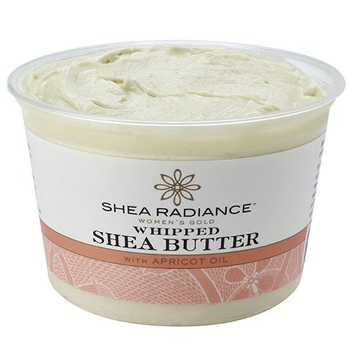 SHEA RADIANCE Whipped Shea Butter in Tub, 5 Ounce