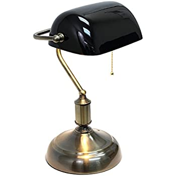 Traditional Bankers Lamp - Desk Lamps - Amazon.com