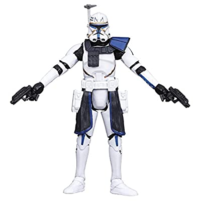 Star Wars, The Black Series, Clone Wars Captain Rex Action Figure #09, 3.75 Inches: Toys & Games