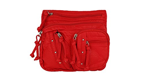 Collection Farrow Shoulder Bag Crossbody Red by K Travelocity Mia MKF dtq4n8HSxd