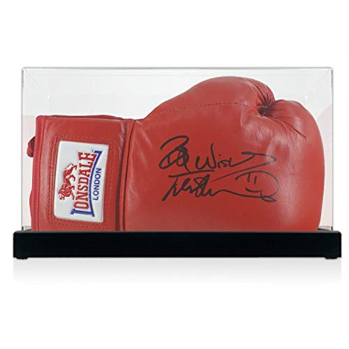Frank Bruno Signed Boxing Glove In Display Case | Autographed Memorabilia