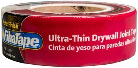 1-7//8 Inch by 300-Feet Saint-Gobain ADFORS FDW8191-U Ultra Thin Drywall Tape White