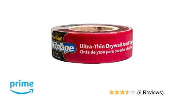 6a25058a2e8 Amazon.com: Saint-Gobain ADFORS FDW8191-U Ultra Thin Drywall Tape, 2-Inch  by 300-Feet, White: Home Improvement