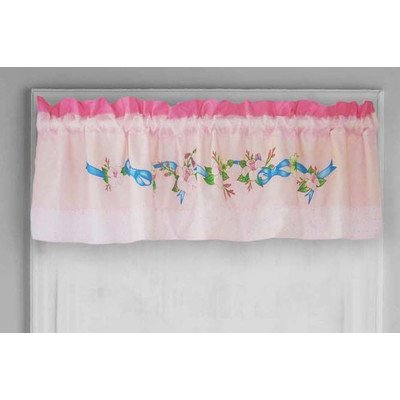 Disney Garden of Beauty Curtain - Tailored Garden Valance