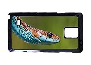 San Francisco Garter Snake Portrait Pattern Hard Durable Cover Case for Samsung Galaxy Note 4 Kimberly Kurzendoerfer