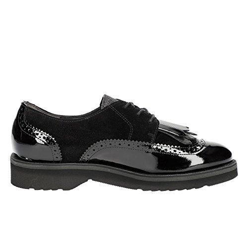Para Negro Mujer Green 1019001 Charol Paul De Zapatos Cordones 7Cpaw7xfq