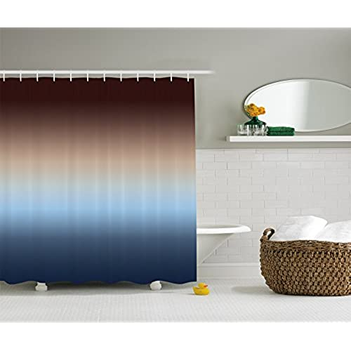 Blue And Brown Bathroom Decor Amazon Com