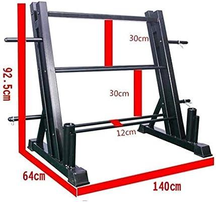 Nologo Barra de dominadas de barra de dominadas multifunción estante de barra de barra estante de equipo comercial: Amazon.es: Hogar