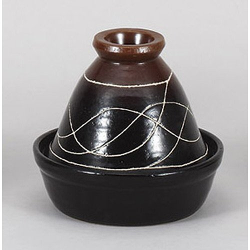[mkd-907-5-84e] Tazine hot woku wire No. 8 Tazine hot pot [25 x 20.5 cm] Direct fire tatori ryokan Japanese style dish for eating and drinking establishment by SETOMONOHONPO