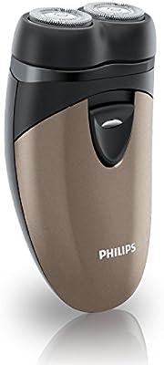 PHILIPS PQ207/18-Afeitadora dos cabezas, funciona con pilas PQ207 afeitado limpio: Amazon.es: Salud y cuidado personal