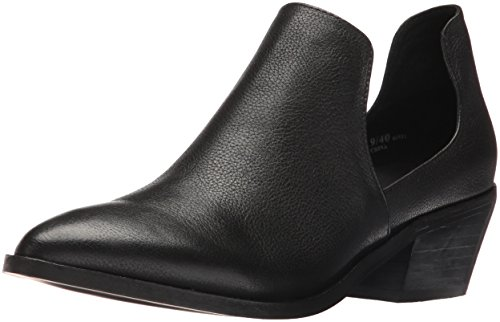 Chinese Laundry Women's Focus Ankle Bootie, Black Leather,  7.5 M US
