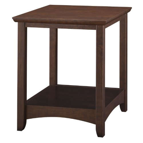 Mission Bush Desk - Bush Furniture Buena Vista End Table