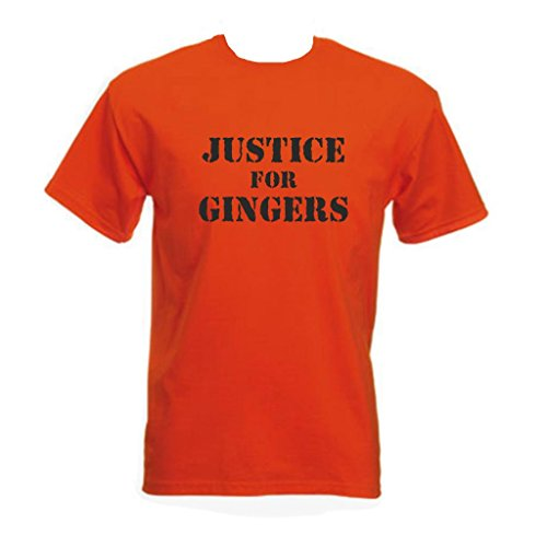 Bullshirt's Men's Justice For Gingers T-Shirt.