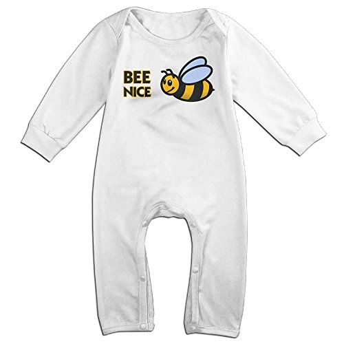 Infant Baby's Bee Nice Bumble Long Sleeve Climb Clothes 12 Months (Max Hall Costume)