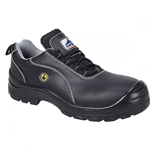 Leather ESD Safety Shoe Leather Safety ESD Safety S1 S1 Leather ESD Shoe tqOOZX