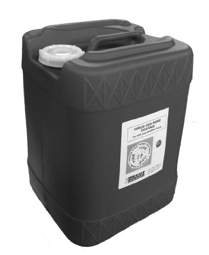 Herco H-55 Pond Coating – Five Gallons – Black