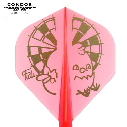 Trinidad Darts Condor Flights Chick Fidel Corral Standard Media 27 5 mm 3 uds.