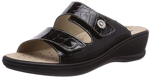 Black Womens Rohde Leather Real Herne Mules qx6yfOCUw