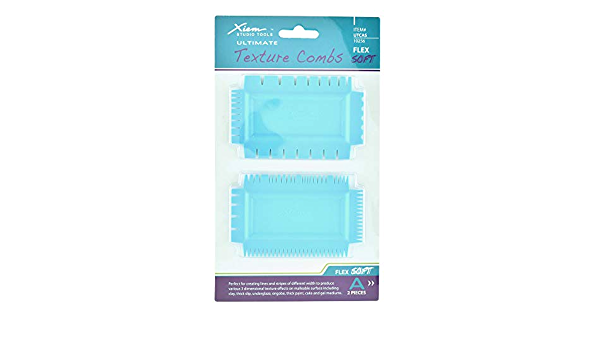 Soft Soft Xiem Studio Tools Ultimate Texture Combs