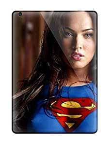 New Megan Fox Supergirl Tpu Skin Case Compatible With Ipad Air