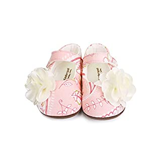 Kinderspel Baby Walker Shoes. Non-Slip Walking Shoes. Baby's First Shoes. Boutique Quality Baby Dress Shoes for Toddlers and Babies. (Ilona - Toddler 5)