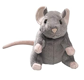 Carl Dick Mouse Grey 6.5 inches, 15cm, Plush Toy, Soft Toy, Stuffed Animal 3326001