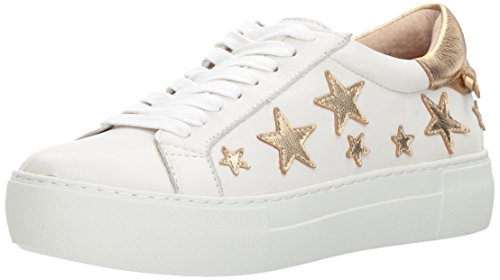 J Slides Women Alabama Fashion Sneaker White/Gold
