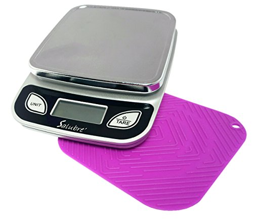 Digital Food Scale / Kitchen Scale / Postal Scale – Weigh in Pounds, Ounces, Grams - Precise Weight Scale 1g (0.04oz) to 11 lbs - Batteries Included by REM Concepts (Image #1)
