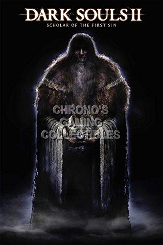 CGC Huge Poster - Dark Souls II Scholar of The first Sin PS3