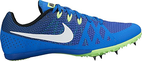 Nike Men's Zoom Rival MD 8 Track Spike Hyper Cobalt/White/Black/Ghost Green Size 12 M US