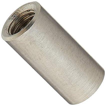 Conector Tiebar M12 x 50 mm - Acero inoxidable A2 (T304) - Tuerca de acoplamiento - Tamañ o redondo del paquete: 4 Generic