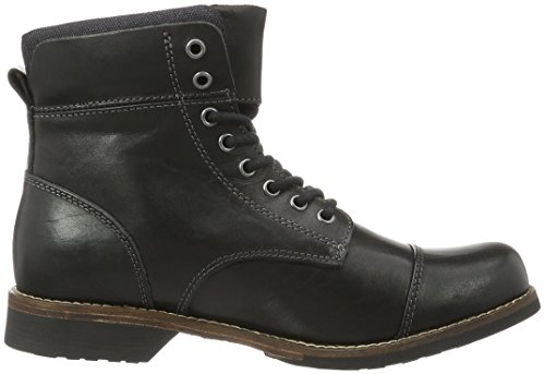 48546571 Botas Leather Hombre 97 Aldo Black Negro Cortas THqqCw6